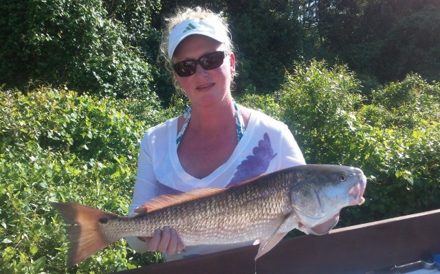Holly's redfish '12