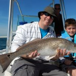 Last Local Guide Service, J. Wormfly redfish