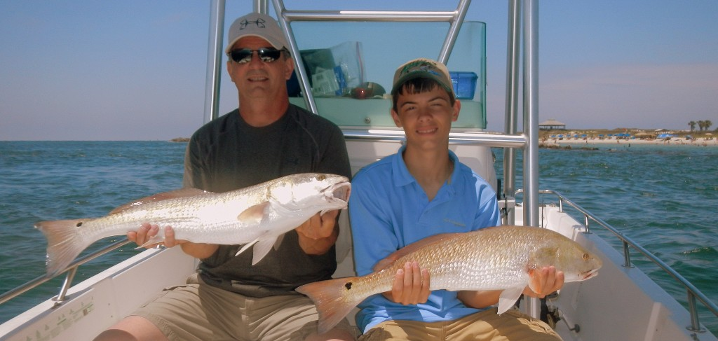 Panama city beach is the home for monster redfish last for Pcb fishing report