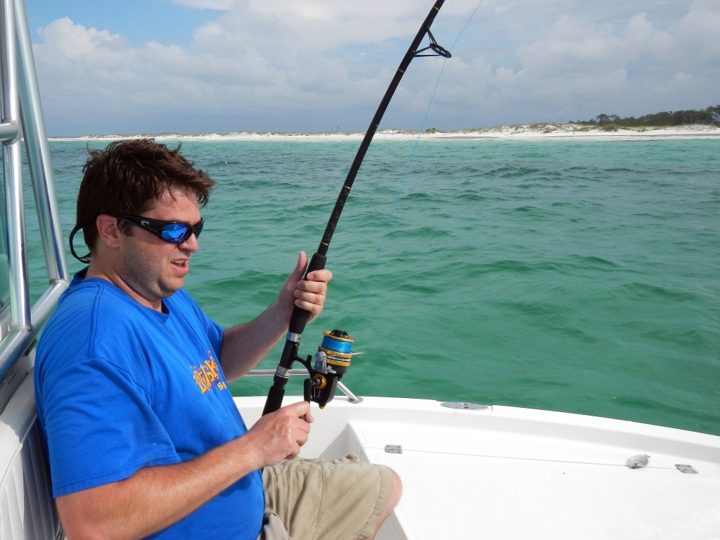 Shark fishing on panama city beach with last local guide for Pcb fishing report