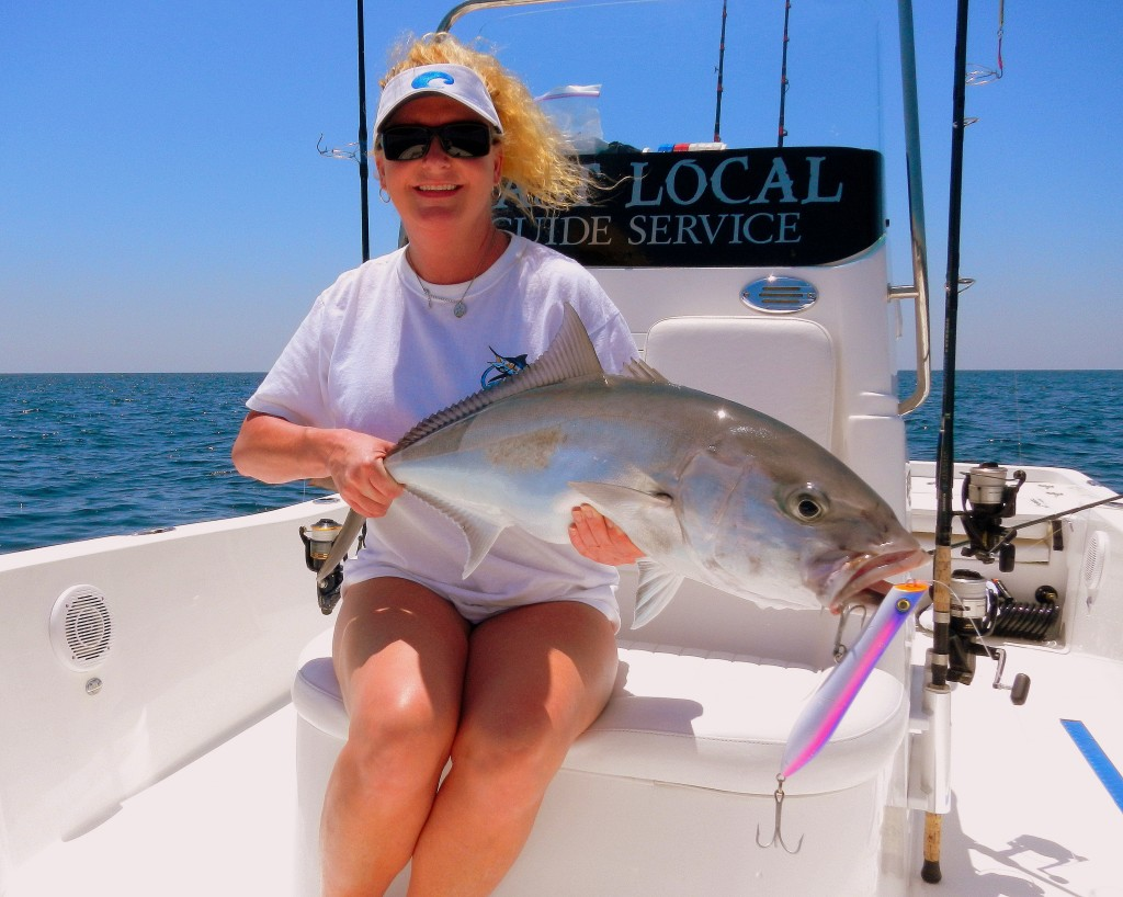 Amberjack fishing with last local guide service is a blast for Panama city beach charter fishing