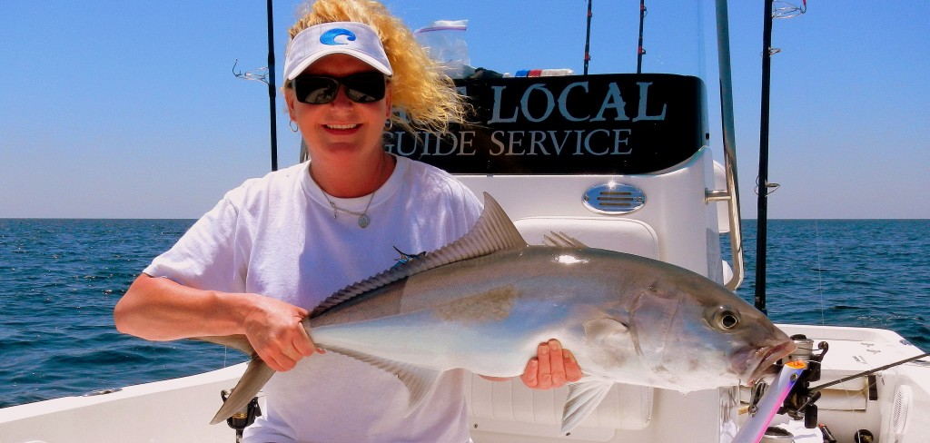 Amberjack fishing with last local guide service is a blast for Panama city fl fishing report