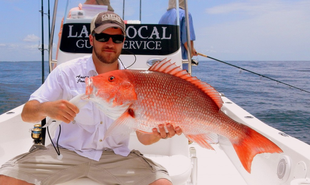 Last Local Guide Service- Red Snapper (Wares1)