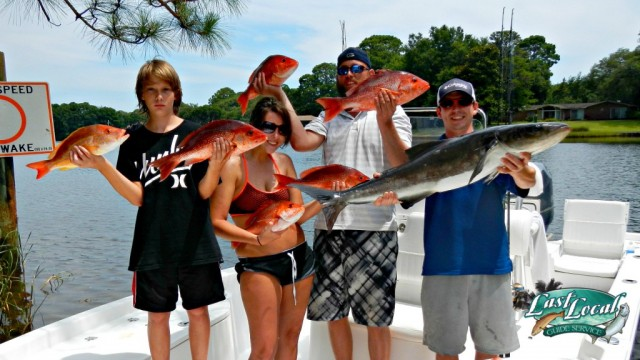 Last Local Guide Service- Red Snapper, Cobia